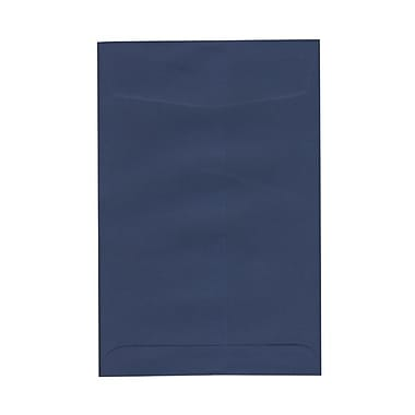 JAM Paper® 6 x 9 Open End Envelopes, Presidential Blue, 50/Pack (363913003g)