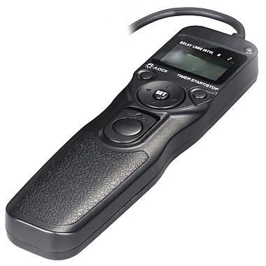 Bower® RCLC1R LCD Timer and Remote Shutter Release for Canon