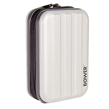 Bower® Super Heavy-Duty Metal Compact Digital Camera Case, Silver