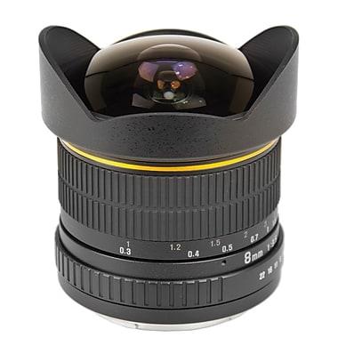 Bower® SLY358 Super-Wide 8mm f/3.5 Fisheye Lens for Nikon