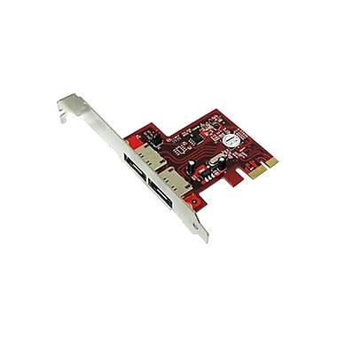 Addonics Low-profile Plug-in Card PCI Express 2.0 x1 Controller