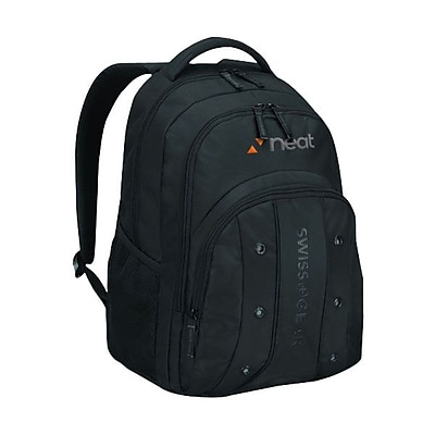 TRG Wenger® UPLOAD 16inch Computer Backpack, Black