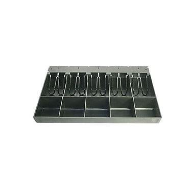 APG Cash Drawer® Vasario 5 Bill 5 Coin Till (VPK-15B-2A-BX)