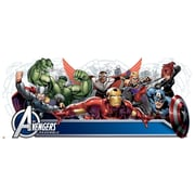 RoomMates Avengers Assemble Headboard Giant Wall Decal With Alphabet