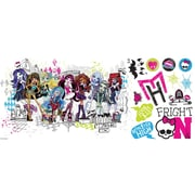 RoomMates Monster High™ Group Giant Wall Decal
