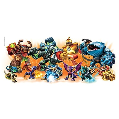 RoomMates Skylander Giants Burst Peel and Stick Wall Decal 277174