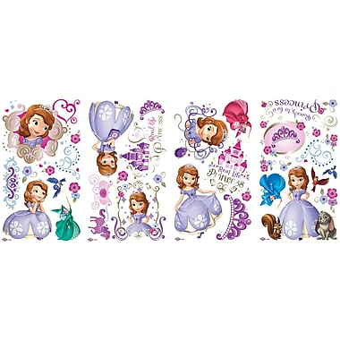 RoomMates Sofia the First Peel and Stick Wall Decal