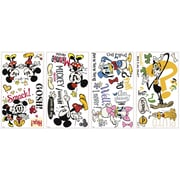 RoomMates Mickey and Friends Mickey Shorts Peel and Stick Wall Decal