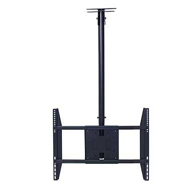 Rocelco® LCM Large Flat Panel Ceiling TV Mount For 32in. - 60in. Screens Up To 56.7 kg/125 lbs.