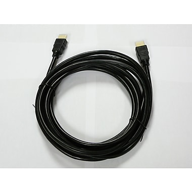 Rocelco HD 5M 16.4' HDMI Cable, Black