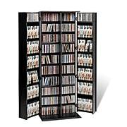 Prepac™ Grande Locking Media Storage Cabinet With Shaker Doors, Black