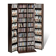 Prepac™ Grande Locking Media Storage Cabinet With Shaker Doors, Espresso