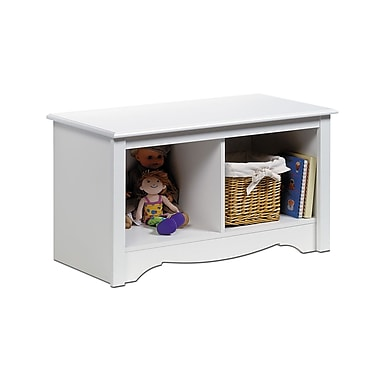 Prepac™ Composite Wood Twin Cubbie Benches