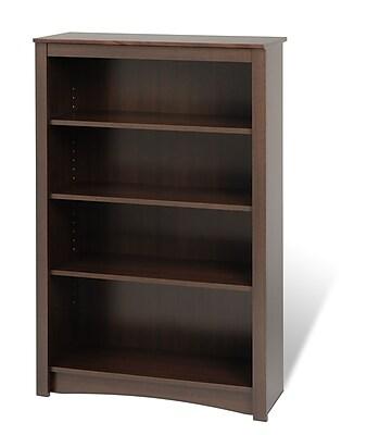 Prepac 31.5'' 4-Shelf Bookcase, Expresso (EDL-3248)