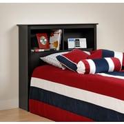 PrepacMC – Tête de lit à bibliothèque pour lit simple, 44,75 po