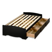 Prepac™ Twin XL Mate's Platform Storage Beds With 3 Drawers