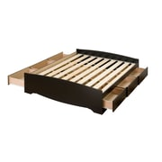 "Prepac™ 63"" Queen Mate's Platform Storage Beds With 6 Drawers"
