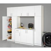 """Prepac™ 65"""" Elite Broom Cabinet, White"""