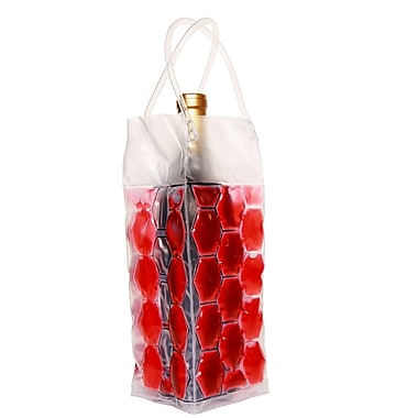 Natico 4-Sided Wine Cooler Bag, Red