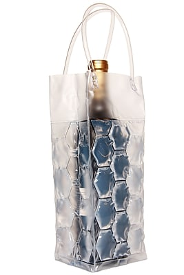 Natico 4-Sided Wine Cooler Bag, Clear