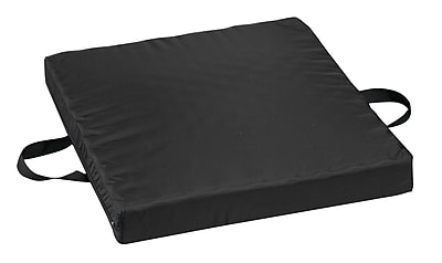 Briggs Healthcare - DMI 513-7637-0200 Gel-Foam Waffle Seat Cushion with Oxford Nylon Cover, Black
