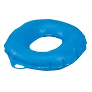 "DMI® 16"" x 3 1/2"" Vinyl Inflatable Ring Cushion, Blue"