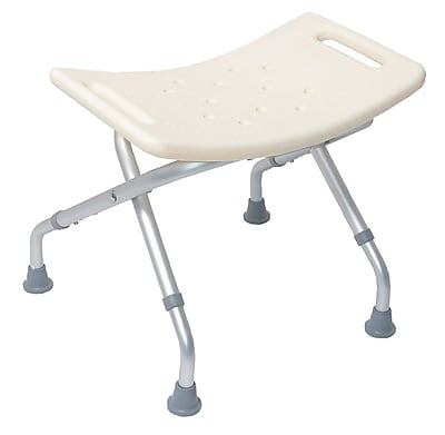 DMI® Folding Shower Seat Without Backrest, 250 lbs.