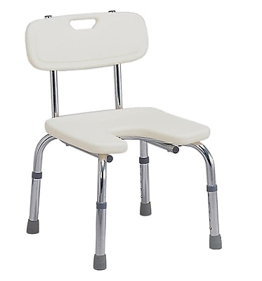 DMI® Hygienic Bath Seat With Backrest, 250 lbs.