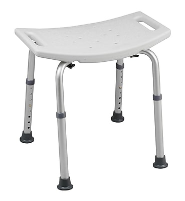 HealthSmart™ Bath Seat Without Backrest and BactiX™, 325 lbs.