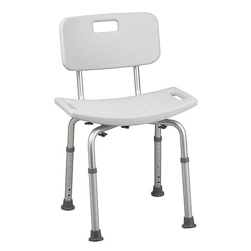 HealthSmart™ Bath Seat With Backrest and BactiX™, 325 lbs.