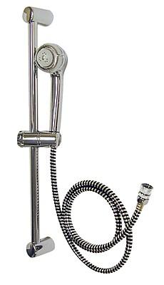 DMI® Adjustable Height Sliding Shower Head, Beige
