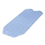 "HealthSmart™ 16"" x 40"" No-Skid Bath Mat, Light Blue"