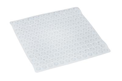 DMI® 21 in. sq. No-Skid Shower Mat, White