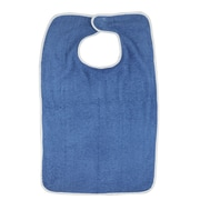 DMI® Terry Cloth Patient Protector With Hook and Loop, Navy