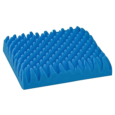 Briggs Healthcare - DMI 552-8004-0000 Foam Convoluted Chair Seat Pad, Blue