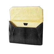 "Fabrique Francine Collection Lexington Avenue Sleeve For 11"" MacBook Air, Snake Black"