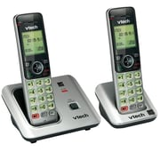 VTech® CS6619-2 Cordless Phone With 2 Handsets, 50 Name/Number