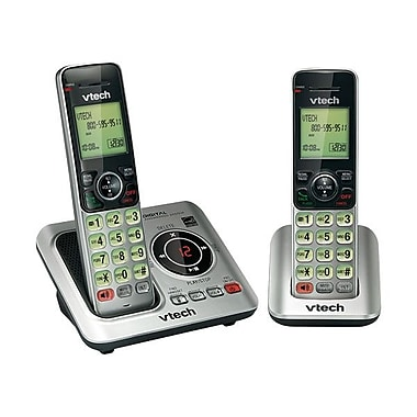 VTech® CS6629-2 Cordless Phone With Caller ID/Call Waiting, 50 Name/Number
