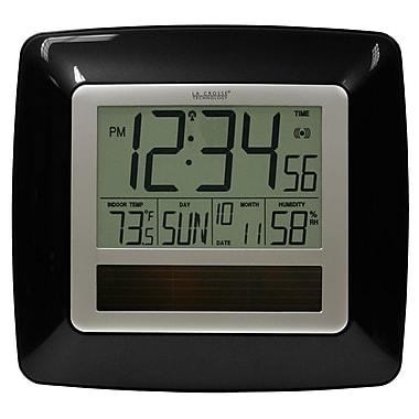 La Crosse Technology WT-8112U Digital Wall/Free Standing Clock