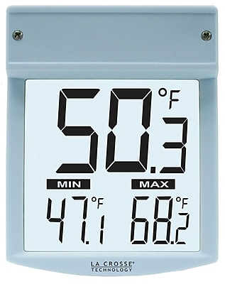 La Crosse Technology Digital Window Thermometer (WT-62U-TBP)