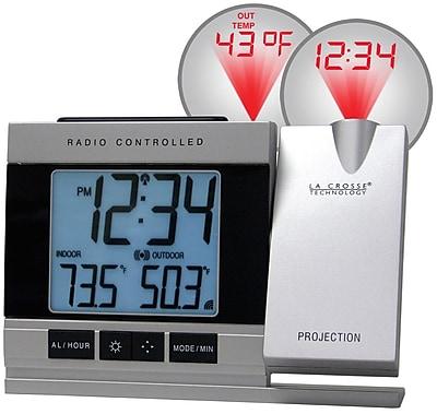 La Crosse Technology Projection Digital Alarm Clock with Temperature (WT-5220U-IT)