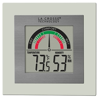 La Crosse Technology WT-137U Indoor Comfort Meter with Temp and Humidity