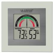 La Crosse Technology Digital Indoor Comfort Meter with Temperature and Humidity (WT-137U-CBP)