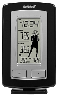La Crosse Technology Wireless Digital Temperature Station with Advanced Icon (WS-9760U-IT)