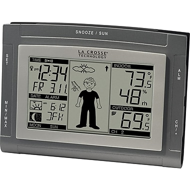 La Crosse Technology WS-9611U-IT Weather Forecast Station with Weather Boy
