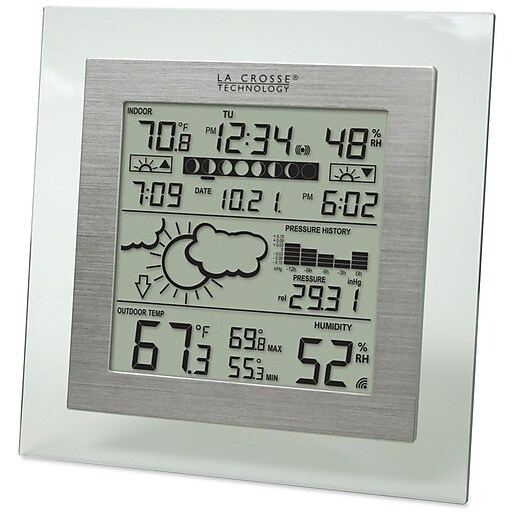La Crosse Technology Wireless Digital Forecast Station with Moon Phase (WS-9257U-IT)