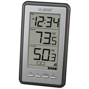 La Crosse Technology Digital Wireless Thermometer with Time (WS-9160U-IT)