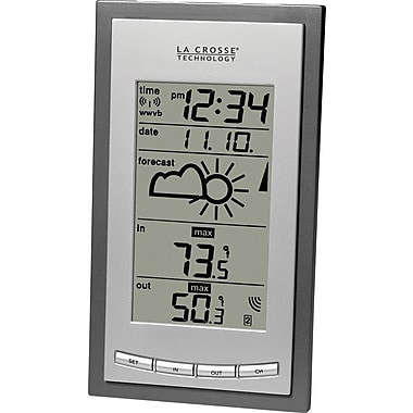 La Crosse Technology WS-9077U-IT Wireless Forecast Station with Time