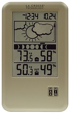 La Crosse Technology Wireless Forecast Station with Moon Phase (WS-9060U-IT)