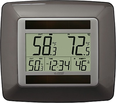 La Crosse Technology WS-8120U-IT-BR-T Solar Digital Temperature Station